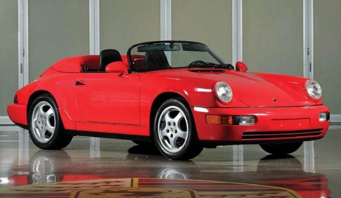"""Nadir Porsche'lerden Biri Daha Satılıyor: """"911 Speedster"""""""