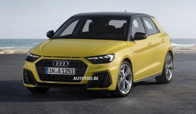 2019 Audi A1'in İlk Resmi Görselleri!
