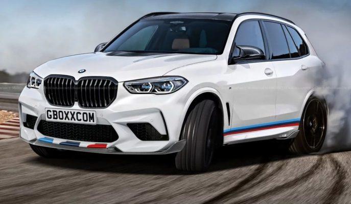 2019 BMW X5 M'e Dair İlk Tasarım Aksyonov Nikita'dan Geldi!