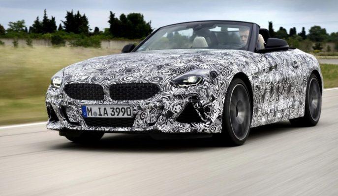 """2019 BMW Z4'ün Finaline Yaklaşılırken """"M40i Roadster""""ı Görüldü!"""
