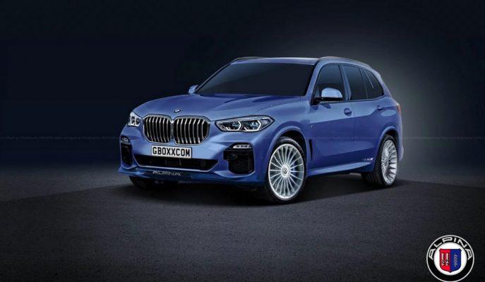 2019 BMW Alpina X5'in Performans Serisi XD5 Böyle Gözükebilir!