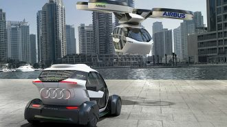 Audi ve Airbus Otonom Hava Taksileri Projesinde Birleşiyor!