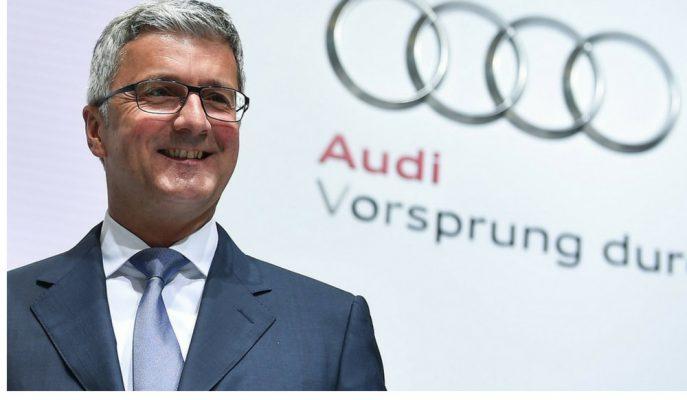 Audi CEO'su Rupert Stadler Göz Altındayken Tutuklandı!
