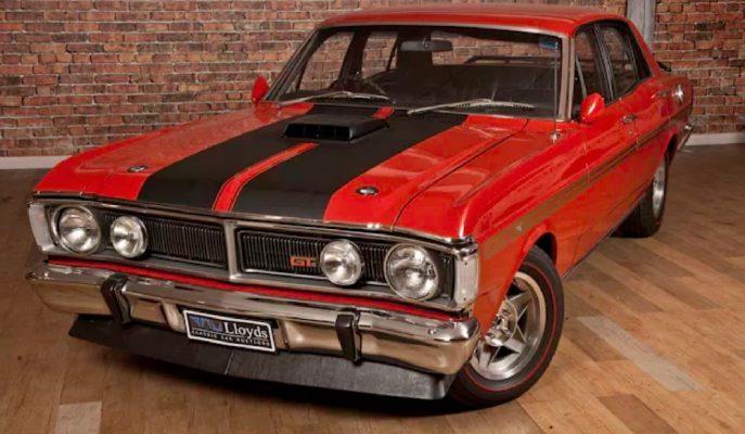 "Avustralya'da Satılan En Pahalı Otomobil: ""1971 Ford Falcon GTHO III"""