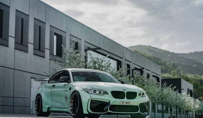 BMW M2'ye Z-Performance'den Sıra Dışı Modifiye Çalışması!