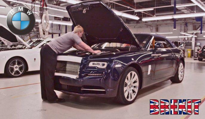 BMW Rolls Royce ve Mini'lerin Üretildiği İngiltere Fabrikalarını Kapatıyor!