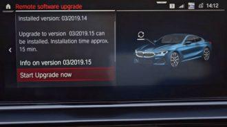 BMW, 8 Serisi'nin Akıllı Telefonlarla Kullanılabilecek Yeni Yazılım Özelliklerini Tanıttı!
