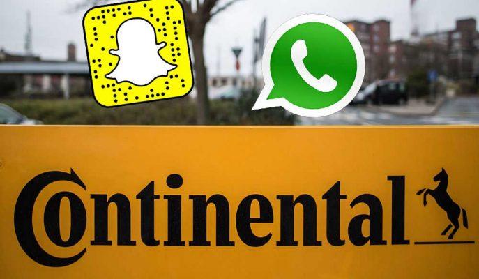 Dünyanın Önde Gelen Lastik Üreticisi WhatsApp ve Snapchat'i Yasakladı
