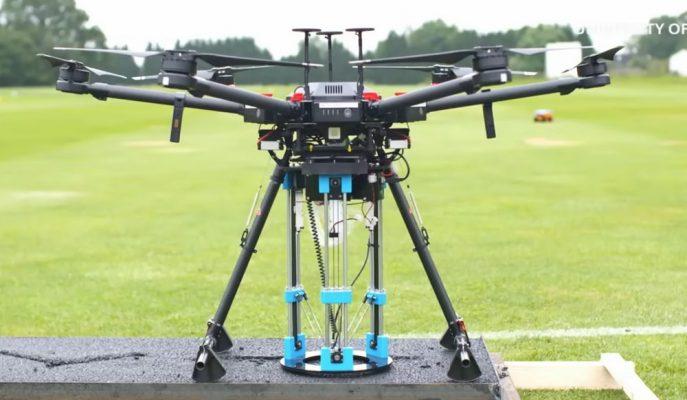 Droneler Gelecekte Yoldaki Çukurları Kendi Kendilerine Tamir Edebilecekler!