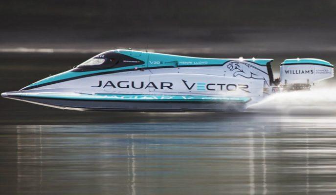 """Jaguar Elektrik Gücünü Suya Taşıyor: """"Vector Racing MotorBoat"""""""