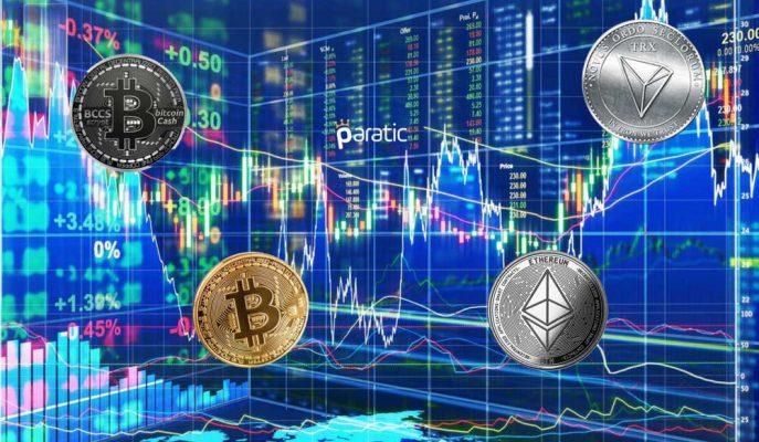 Kripto Paralar Ani Bir Şekilde Yön Değiştirerek Yükselişe Geçtiler
