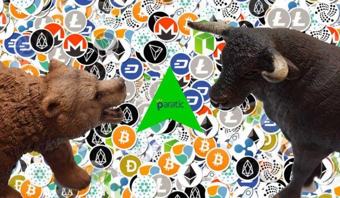 Kripto Paraların Yüzde 10'dan Fazla Yükselmesi Dip Bekleyenleri Şaşırttı!