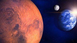 Mars ve Dünya Son 15 Yılın En Yakın Mesafesine Ulaşacak