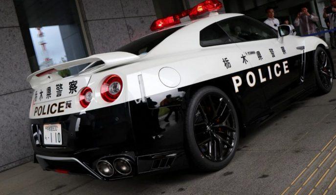 Nissan GT-R Japon Polis Teşkilatında Yeni Görevine Başladı!
