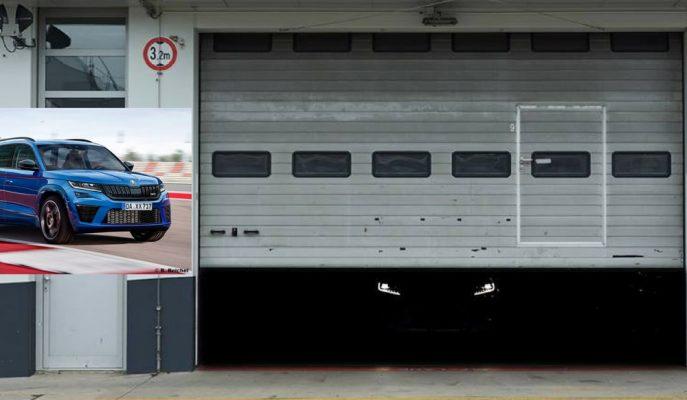 Nürburgring Pisti Garajında Saklanan Skoda Kodiaq RS Olabilir mi?