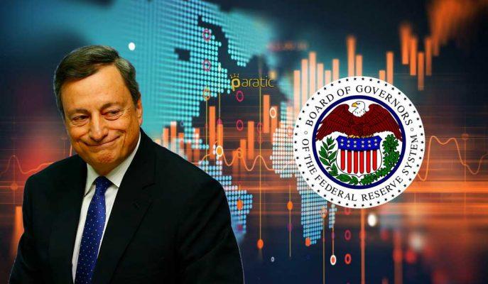Piyasalar FOMC Üyelerinin ve AMB Başkanı Draghi'nin Konuşmalarını İzliyor