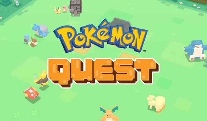 Grafikleri ile Minecraft'ı Andıran Pokemon Quest Mobil Cihazlar Yayınlandı