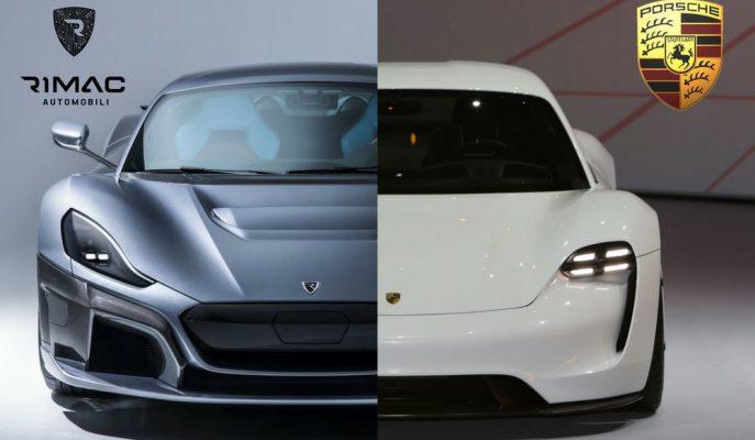 Porsche Elektrikli Araba Üreticisi Rimac Automobili'den Hisse Satın Aldı!