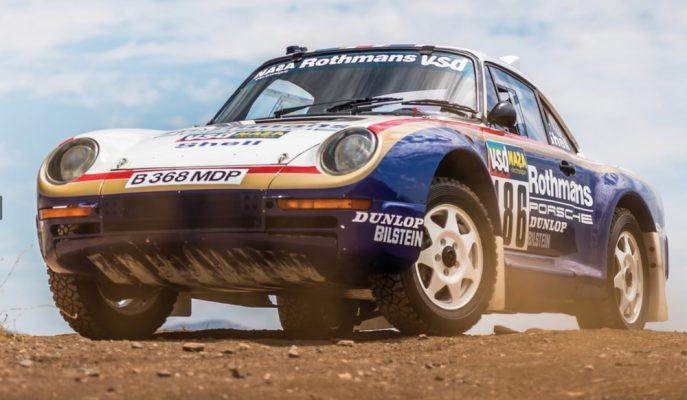 """Dünyada Sadece 6 Adet Olan """"Porsche 959 Rally Car""""lardan Biri Açık Artırmada Satılıyor!"""