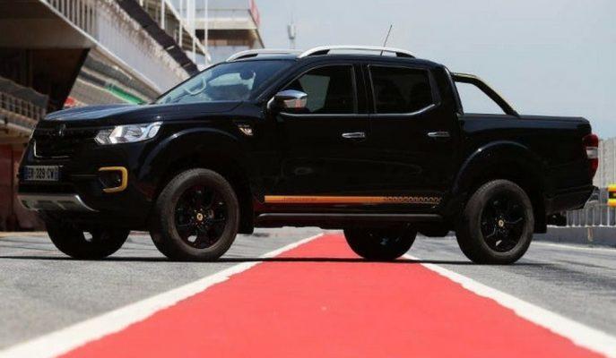 Renault'un F1 Moduna Alınan Alaskan Pick-up'ı Gösterildi!
