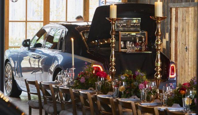 """Rolls Royce """"Arabalar ve Konyak"""" Etkinliği için Lüks Phantom Modelini Hazırlamış!"""
