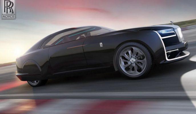 Rolls Royce'un Sweptail Modeli Üzerinden Tam Otonomlu Yapısı Hayal Edilmiş!