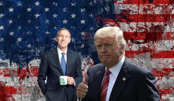Starbucks'ın Başkanlık Görevinden Ayrılan Schultz, ABD Başkanlığına mı Soyunuyor?