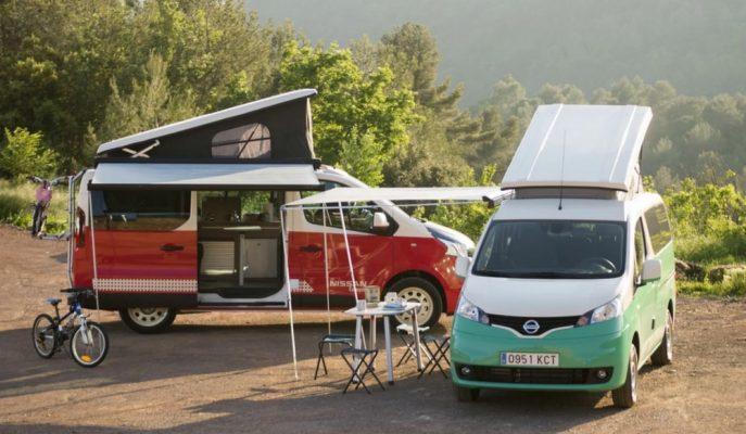 Tatilciler Buraya! Nissan'ın Yeni e-NV200 ve NV300 Camper Vanları ile Tanışın!
