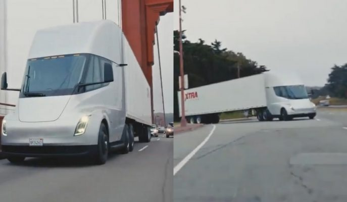 Tesla Semi Artık Yollarda! İlk Fragmanlar Geldi