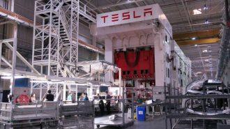 Tesla Tesisine Sabotaj Hazırlığı Yapan Kişi Yakalandı!