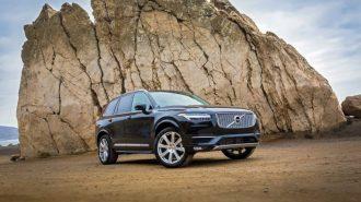 Volvo XC90 SUV'un Direksiyonunda Uyuyakalmak Artık Sorun Olmayacak!