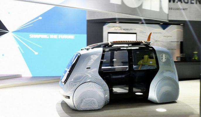 VW Sporculara Özel Yapay Zekalı SEDRIC Otonom Aracını Tanıttı!
