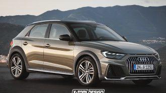 Yeni Audi A1 Avant Olsaydı! Peki Alllroad Quattro'ya Ne Dersiniz!