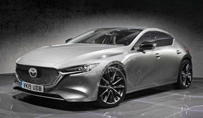 Yeni Mazda 3 LA Auto Show'a Bu Şekilde Geliyor!