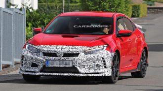 2018'in En Çok Rekor Kıran Aracı Civic Type R Makyajlanıyor!