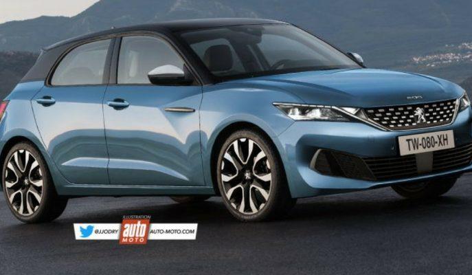 2019 Yeni Peugeot 208'e Dair İlk Çizimler Geldi!