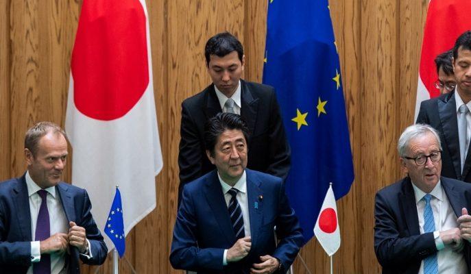 AB ile Japonya Arasında Dünyanın En Büyük Serbest Ticaret Anlaşması İmzalandı