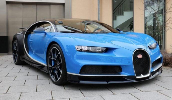 Almanya'da Satışa Çıkartılan Bugatti Chiron'un İkinci El Fiyatı Sıfırından Daha Pahalı!