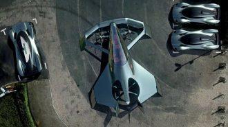 Aston Martin Volante Concept ile Uçan Araba Sınıfına Hazırlanıyor!
