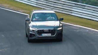 Audi SQ8'in Nürburgring Testleri Başladı!