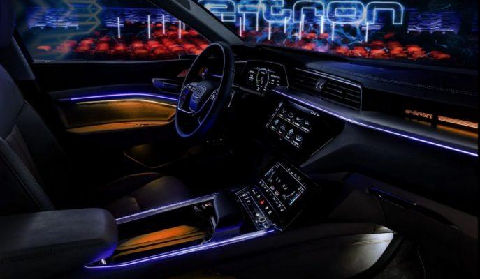 2020'de Tanıtılacak Audi E-Tron SUV'un Kokpit Detayları Gösterildi!