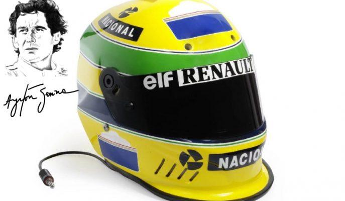 1994 Yılında Ölen F1 Şampiyonu Ayrton Senna'nın Kaskı Açık Artırmada!