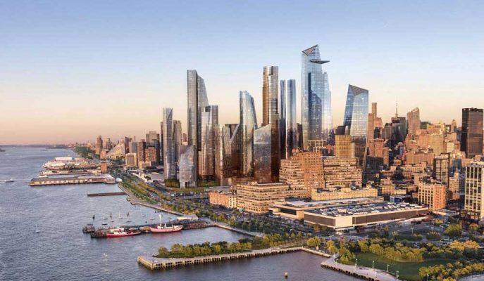 Devler New York'u Yeniden Şekillendirecek Lüks Hudson Yards Projesinde Buluşuyor!