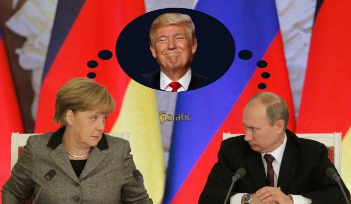 Donald Trump Almanya ile Rusya Arasındaki İlişkiyi Sert Eleştirdi