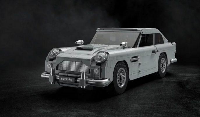 LEGO'dan James Bond'a Özel Aston Martin DB5 Oyuncak Seti!