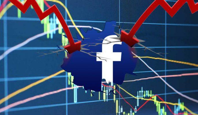 Facebook 120 Milyar Dolarlık Piyasa Değeri Kaybıyla Tarihe Geçti!
