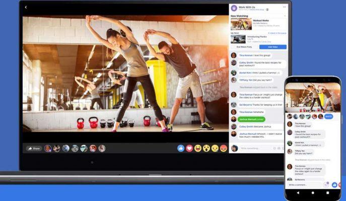 Facebook Watch Party ile Gruplarda Toplu Video İzleme İmkanı Geldi