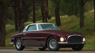 """Son Derece Özel Bir İtalyan RM Sotheby'de Satılıyor: """"1954 Ferrari 375 America"""""""