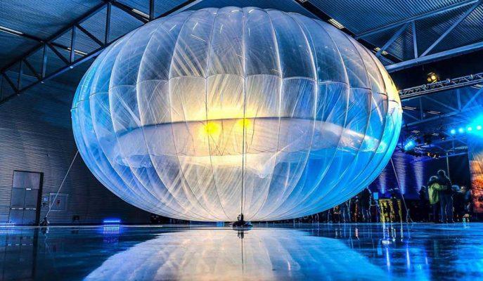 Google'ın Balonları ile Afrika'nın Kırsalda Yaşayan İnsanları İnternet Hizmeti Alacak