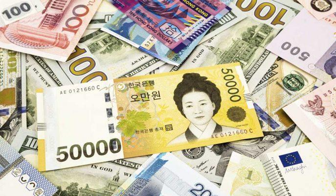 Güney Kore Wonu Diğer Gelişen Ülke Paralarını Yükseltti